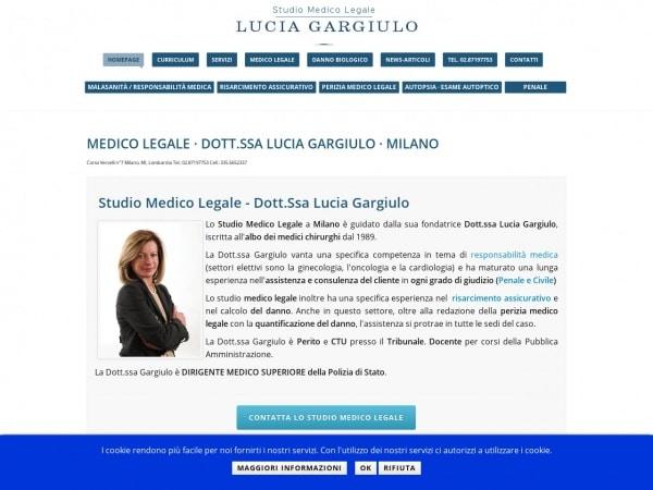 Studio Medico Legale Dott.ssa Gargiulo