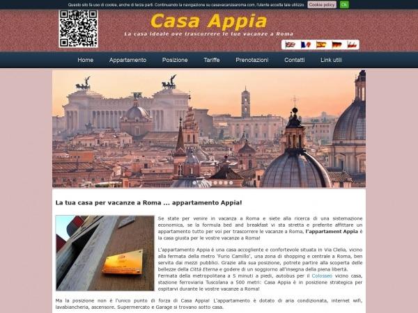 Appartamento vacanze a Roma