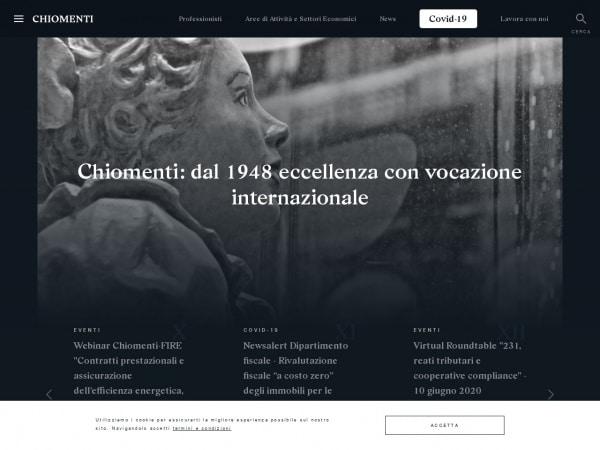 CHIOMENTI Studio Legale – HOME