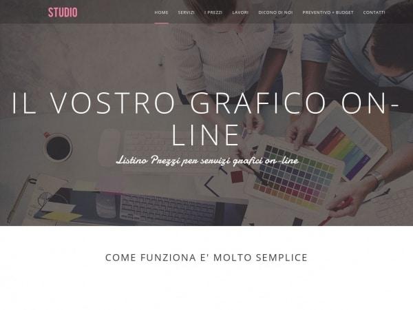 Servizi Progettazione Grafiche on-line