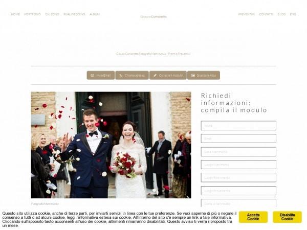 Fotografo matrimonio professionista a Venezia
