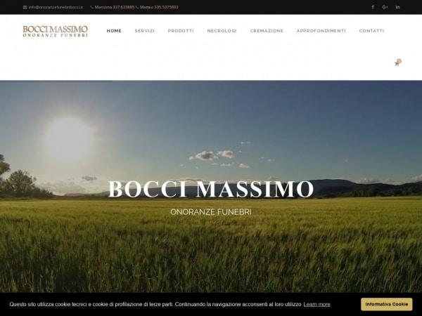 Onoranze Pompe Funebri Bocci