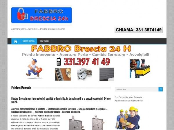 SOS fabbro Brescia