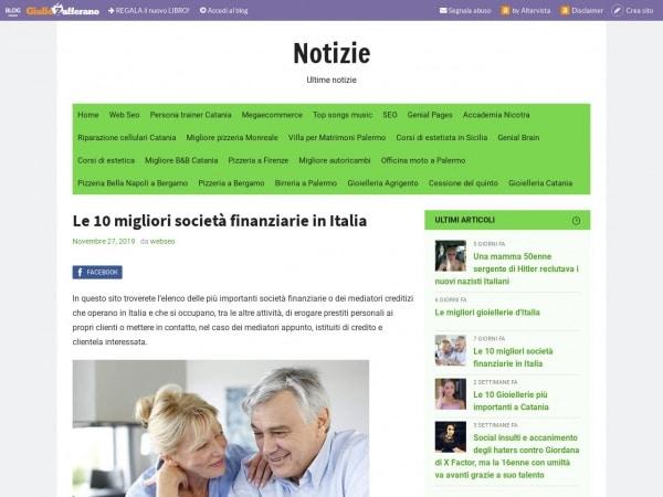 Le 10 migliori società finanziarie in Italia